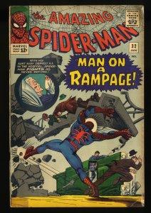 Amazing Spider-Man #32 VG- 3.5