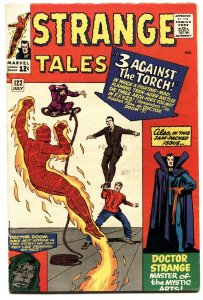 STRANGE TALES #122-JACK KIRBY-HUMAN TORCH-SILVER AGE-MARVEL FN