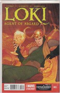 Loki: Agent of Asgard #3 (2014)