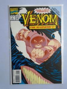 Venom The Madness #1, 8.5/VF+ (1993)