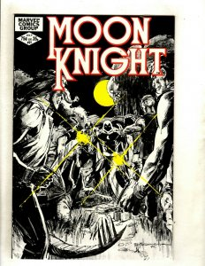 Lot Of 10 Moon Knight Marvel Comic Books # 21 22 23 24 25 26 27 28 29 30 HJ9