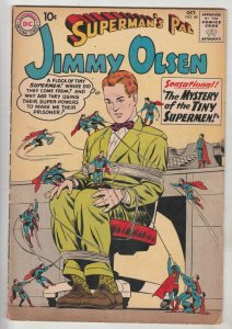 Jimmy Olsen, Superman's Pal  #48 (Oct-60) FN+ Mid-High-Grade Jimmy Olsen