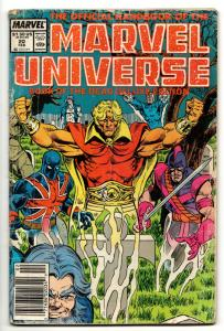 Official Handbook of the Marvel Universe #20 Deluxe Edition (1988) FR/GD