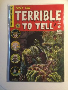Tales too Terrible To Tell 1 Near Mint nm New England Comic