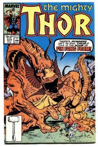 THOR #379 comic book-HIGH GRADE COPY-MARVEL-Fin Fang Foom
