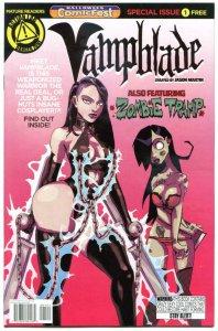 VAMPBLADE #1 Halloween Comicfest, Promo, 2015, NM-, Zombie Tramp, Action Lab