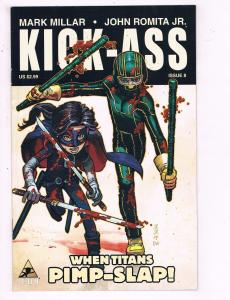 Kick Ass # 8 VF/NM Marvel Icon Limited Series 1st Print Mark Millar Romita BN2