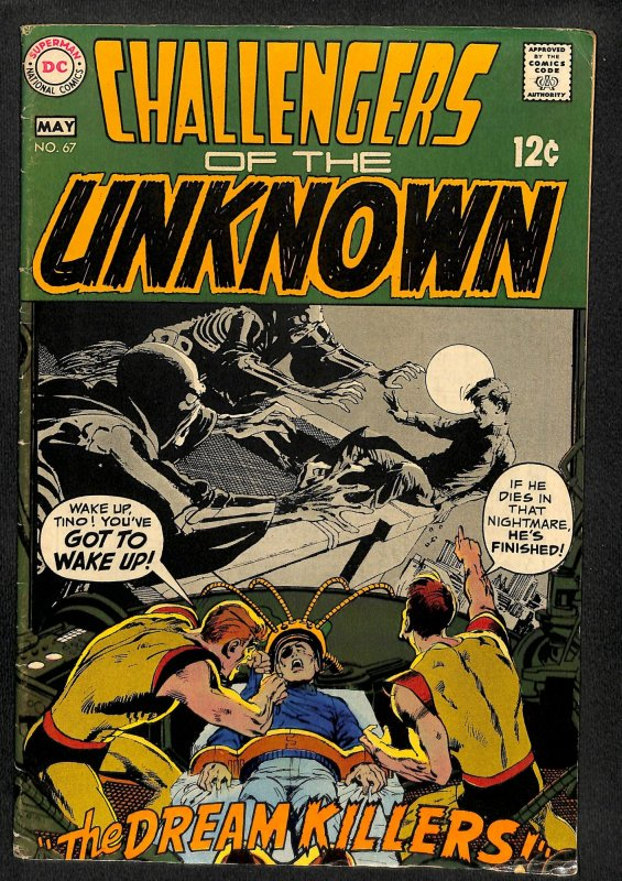 Challengers of the Unknown #67 (1969)