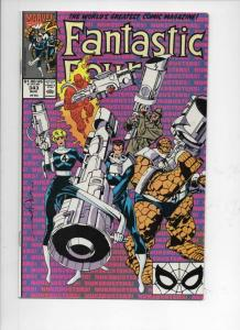 FANTASTIC FOUR #343 VF/NM Nuke Busters, 1961 1990 Marvel, more FF in store