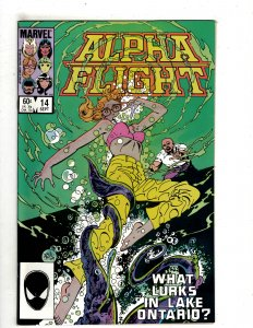 Alpha Flight #14 (1984) SR18