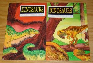 Dinosaurs: An Illustrated Guide #1-2 VF/NM complete series - tome press set