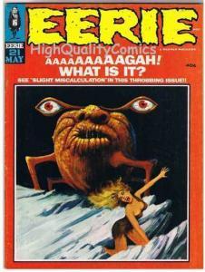 EERIE #21, VG+/FN, Warren, Steve Ditko, Fiends, Tomb, 1969,more mags in store