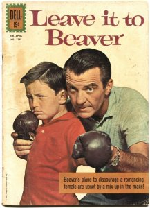 LEAVE IT TO BEAVER-DELL FOUR COLOR #1106-JERRY MATHERS TV PHOTO COVER