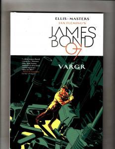 James Bond Vargr 007 Dynamite Comic Book HARDCOVER Graphic Novel Fleming J345