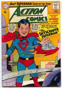 Action Comics #325 1965- Skyscraper Superman FN