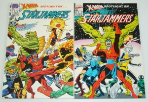 X-Men Spotlight: Starjammers #1-2 VF/NM complete series DAVE COCKRUM kavanagh