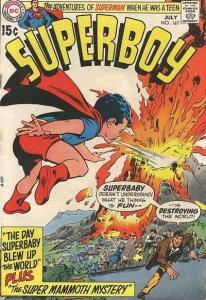 Superboy (1949 series) #167, Good- (Stock photo)