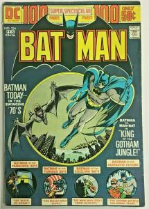 BATMAN#254 FN+ 1970  ONE HUNDRED PAGE GIANT DC BRONZE AGE COMICS