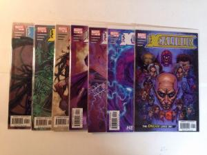 Excalibur 1-7 Near Mint Lot Set Run Claremont