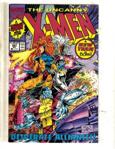 10 Uncanny X-Men Marvel Comic Books #281 283 284 285 286 287 288 289 290 291 MF2