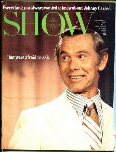 Show 11/1973-Johnny Carson-John Wayne-Lucille Ball-cheesecake-FN