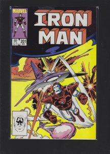 Iron Man #201 (1985)