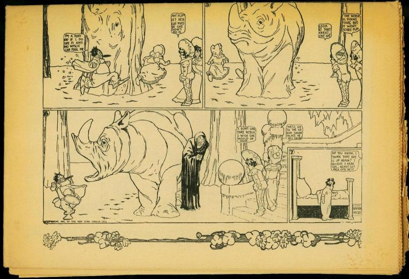 Comic World #7/8 Little Nemo Windsor McCay reprints VG