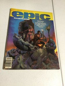Epic Illustrated 2 Vf Very Fine Marvel Magazine