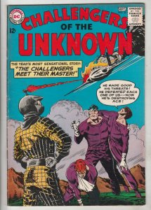Challengers of the Unknown #33 (Sep-63) VF/NM High-Grade Challengers of the U...