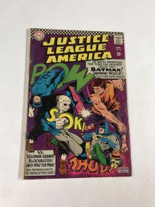 Justice League Of America 46 3.0 Gd/vg Good/Very Good Dc Silver Age 1st Sandman