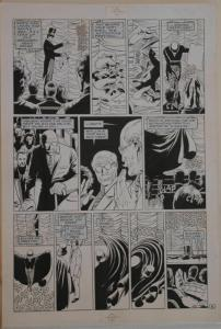 PAUL GULACY / DAN ADKINS original art, CODENAME DANGER  #4, pg 8, 11x17, Magic