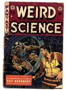 WEIRD SCIENCE #19 1953-BRADBURY-FRAZETTA-WOOD-ORLANDO-fr