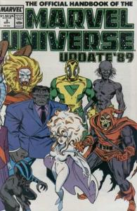 Official Handbook of the Marvel Universe (1989 series) #3, NM- (Stock photo)
