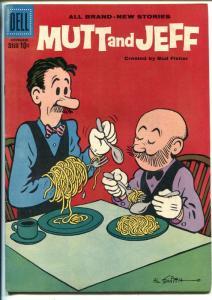 Mutt & Jeff #105 1958-Dell-Al Smith art-1st Dell Issue?-FN