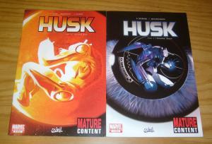 Husk #1-2 VF/NM complete series - marvel comics - 2010 SOLEIL frederic l'homme
