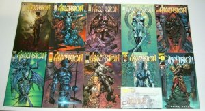 Ascension #0 & ½ & 1-22 VF/NM complete series - image comics - david finch half