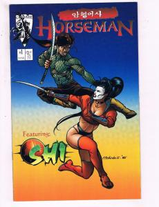 Horseman Featuring Shi #1 VF Crusade Comics Comic Book 1995 DE18
