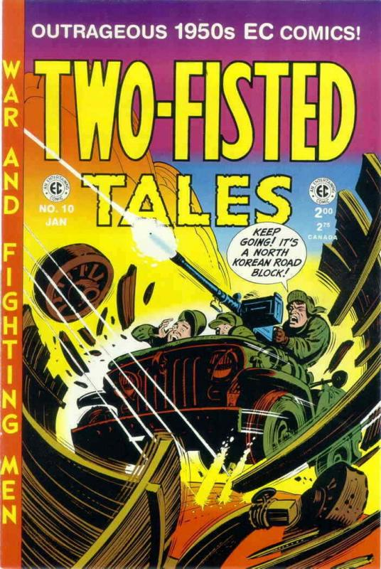Two-Fisted Tales (RCP) #10 VG; RCP | low grade comic - save on shipping - detail