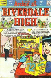 Archie At Riverdale High #2 (Sep-72) VG Affordable-Grade Archie