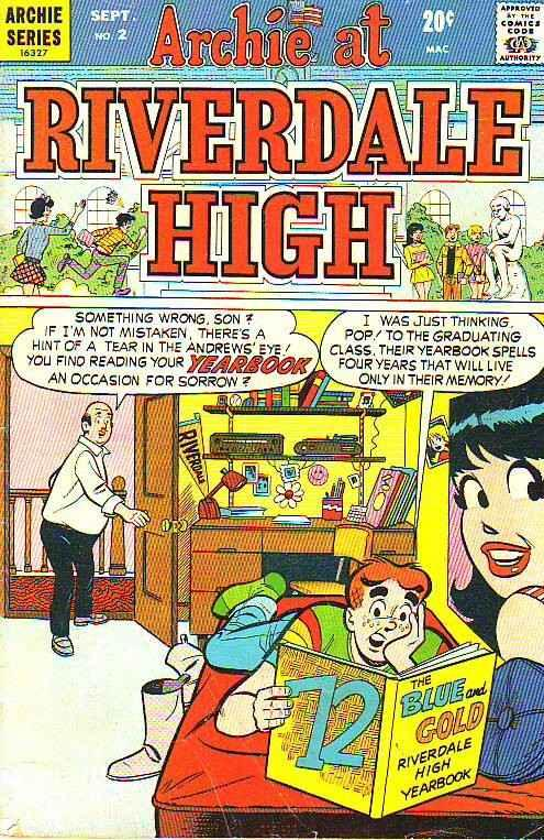Archie At Riverdale High #2 (Sep-72) VG Mid-Grade Archie