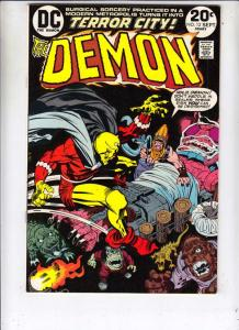 Demon, The #12 (Sep-73) NM Super-High-Grade Jason Blood, Merlin