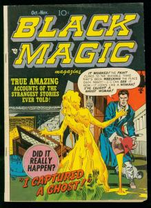 BLACK MAGIC v.2 #1 1951-PRE CODE HORROR COMIC - SIMON & KIRBY- vg/fn