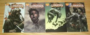 Widow Warriors #1-4 VF complete series - pat lee - dynamite comics set lot 2 3