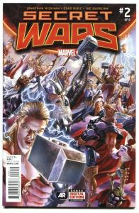 SECRET WARS #2 2015 1st GOD EMPEROR DOOM