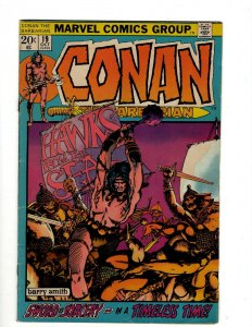 Conan The Barbarian #19 FN/VF Marvel Comic Book Barry Smith Kull King Sword NP16