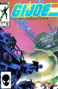 G.I. JOE #36 Marvel Comics (ungraded) stock photo / ID#B-4