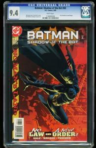 BATMAN: SHADOW OF THE BAT #83 -CGC 9.4 WHITE -HUNTRESS NEW BATGIRL 1196808009