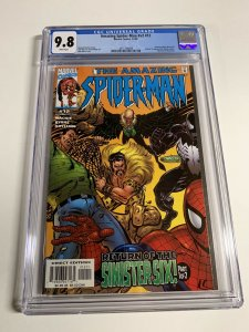 Amazing Spider-man V2 Vol Volume 2 Issue 12 Cgc 9.8 White Pages Marvel