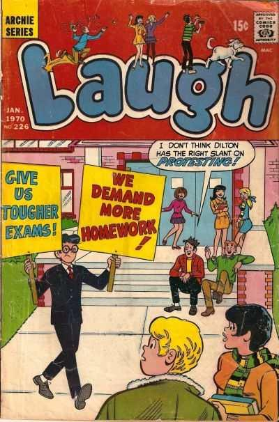 Laugh Comics #226, VG+ (Stock photo)
