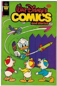WALT DISNEYS COMICS & STORIES 485 FN